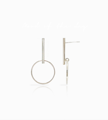 Silver Stickring Earring [S16ED18]
